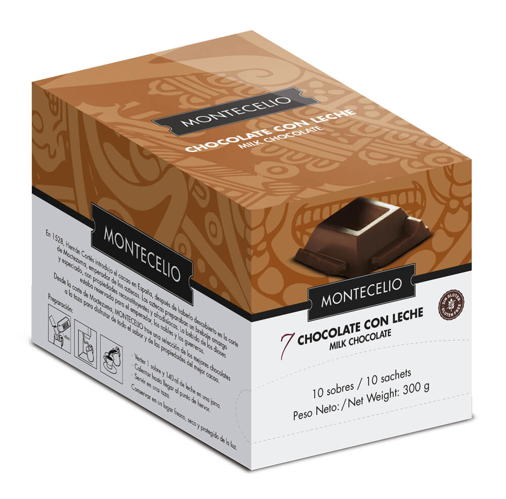 7 - CHOCOLATE CON LECHE